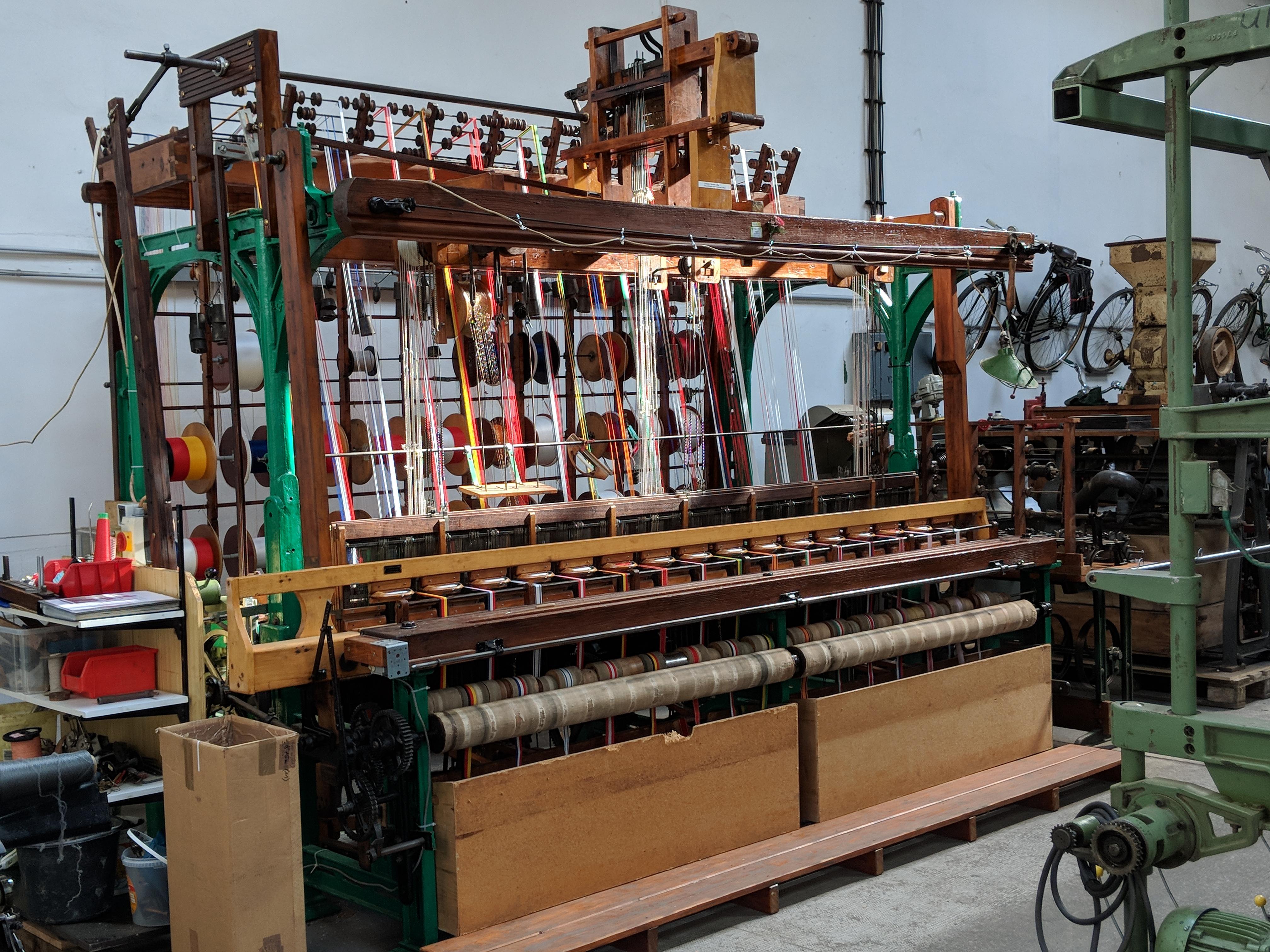 Bandwebmaschine