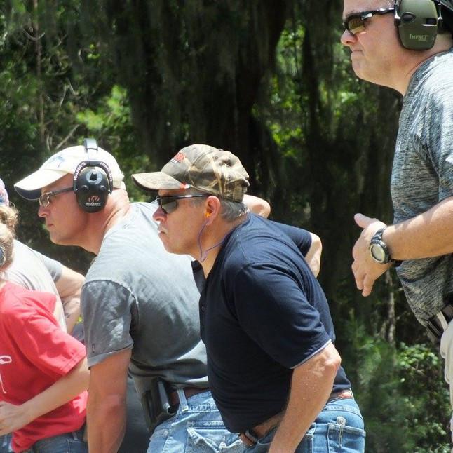 Class Shooting on Range