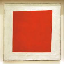 Kazimir Malevich Rotes Quadrat 1915