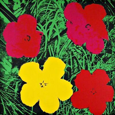 Andy Warhol Flowers 1970
