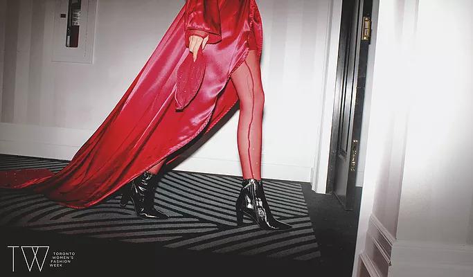 Toronto Women's Fashion Week Ad