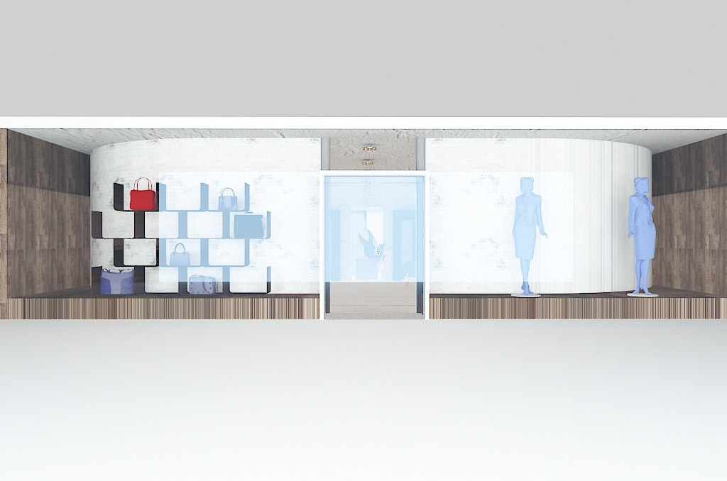 Visual Merchandising: 3D interior