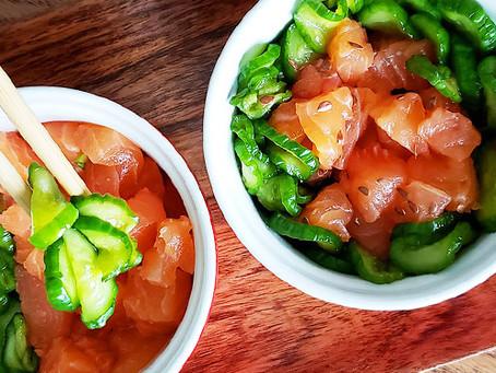 Sunomono, a salada japonesa agridoce de pepinos que você pede nos restaurantes