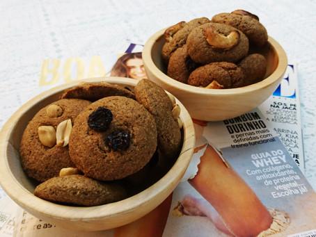 Biscoitinhos de caju, deliciosos e com alto teor de fibras