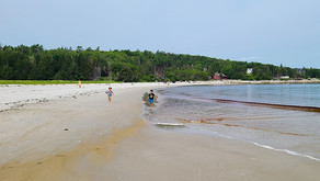 Carters Beach, uma das mais lindas de Nova Scotia