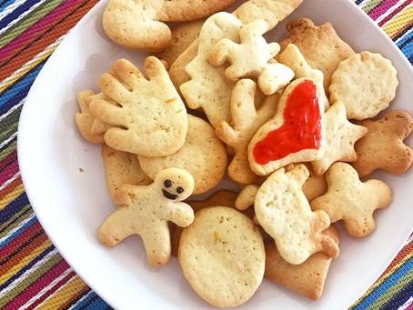 Biscoito amanteigado caseiro para fazer com as crianças