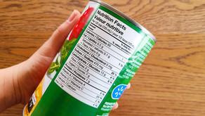 O Canadá mudará os rótulos dos alimentos em 2021