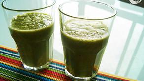 O suco detox feito com vegetais que é uma injeção de energia pura no nosso organismo