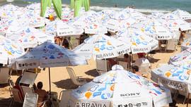Sony TV Activation on Boa Viagem Beach