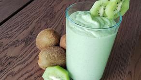 Smoothie de abacate e kiwi, um café da manhã detox para começar bem a semana