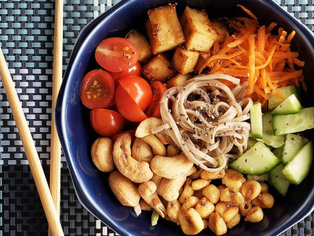 Saiba como preparar a famosa salada vegetariana Buckwheat Soba Tiger