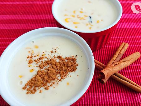 Uma versão mais saudável do tradicional Mungunzá nordestino para você fazer em casa