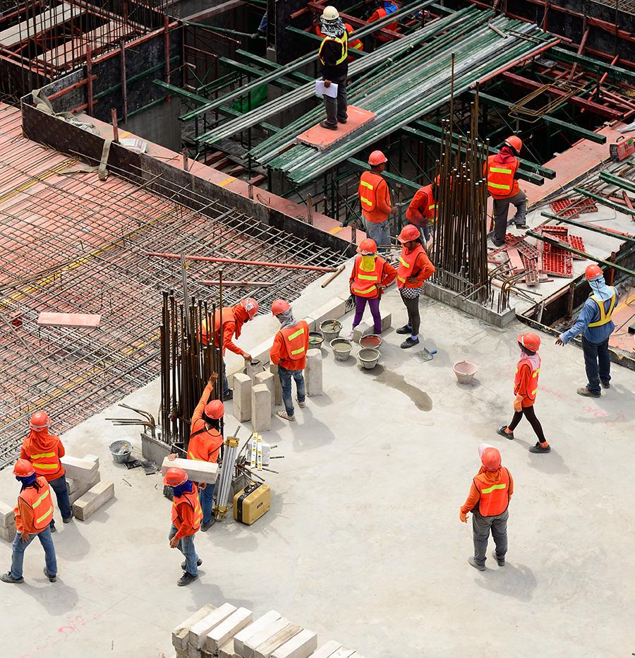 Einbindung in Bauprojekte