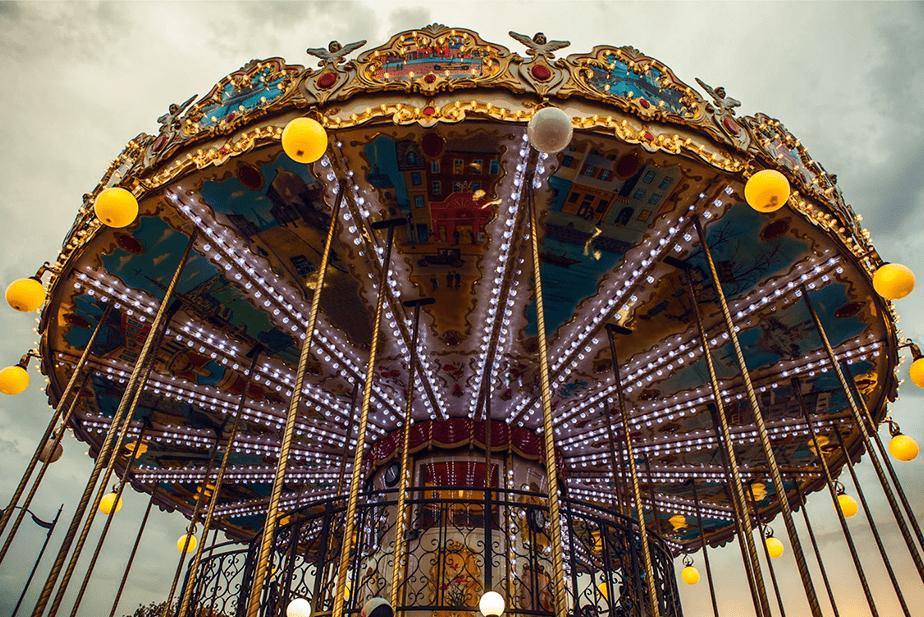 Photo of carousel by Artiom Kireev