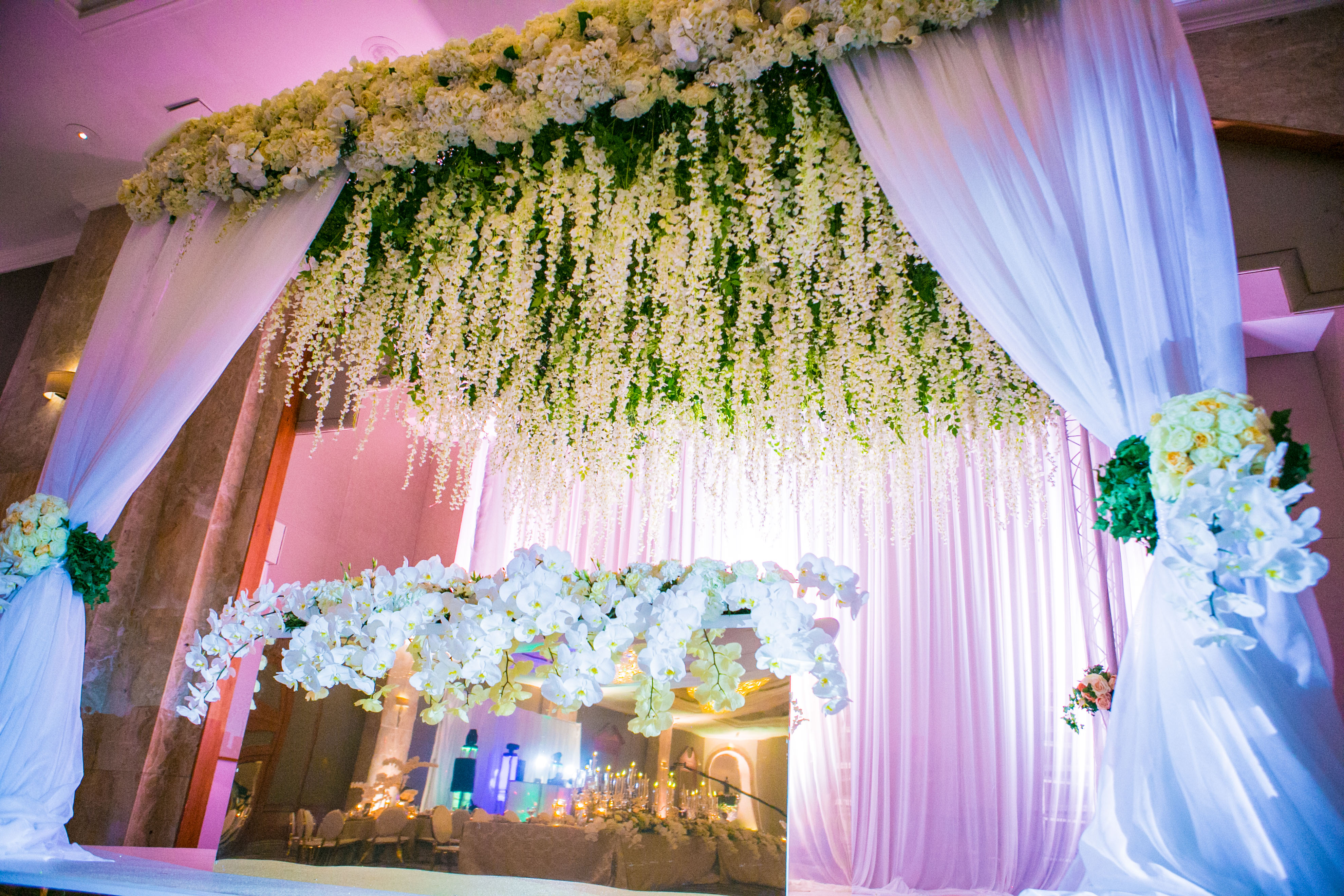 Bride & Groom Stage