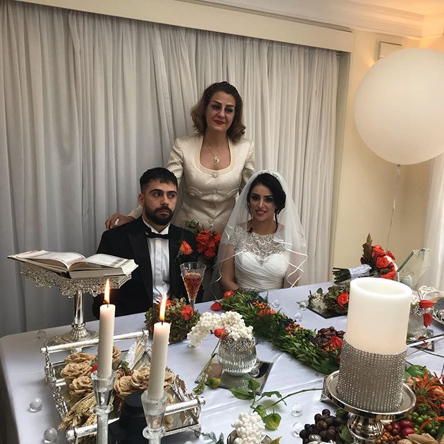 Niloofar and Essak wedding