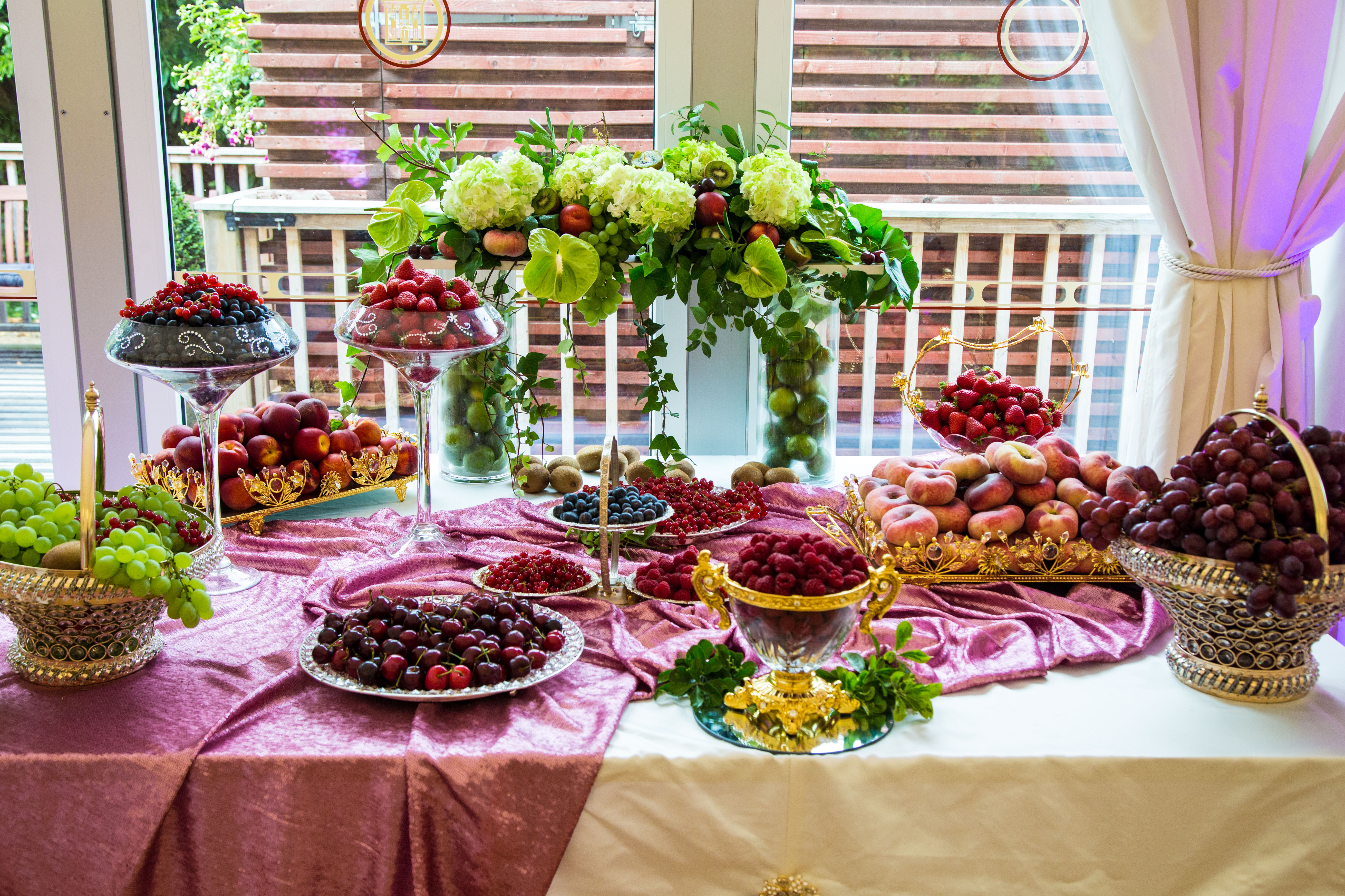 Wedding Fruit Design