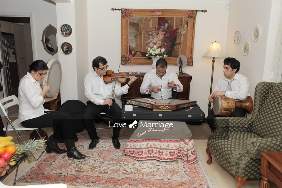 Iranian & Turkish traditional band