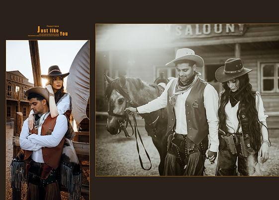 Cowboy wedding theme