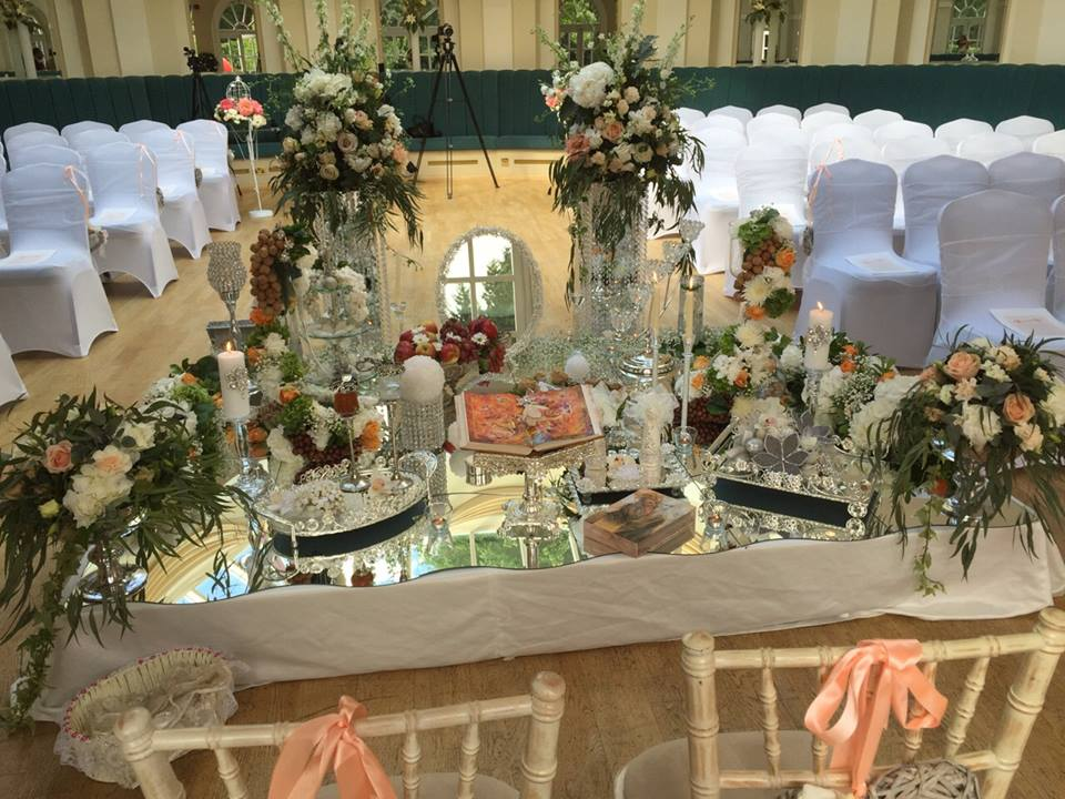 Persian ceremony decoration