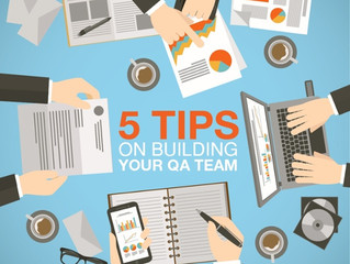 5 Tips on Building Your QA Team