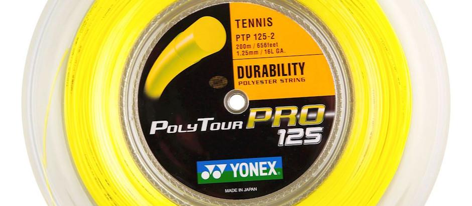 Snarentest: Yonex Poly Tour Pro 1.25