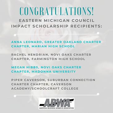 EMC Impact Scholarship Recipients.png