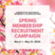 Spring membership recruitment campaign.p