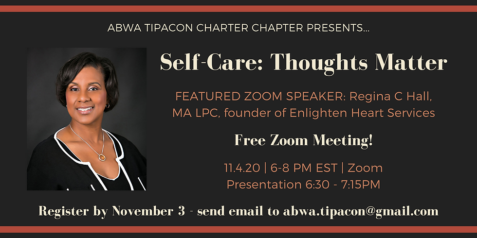 Self-Care: Thoughts Matter