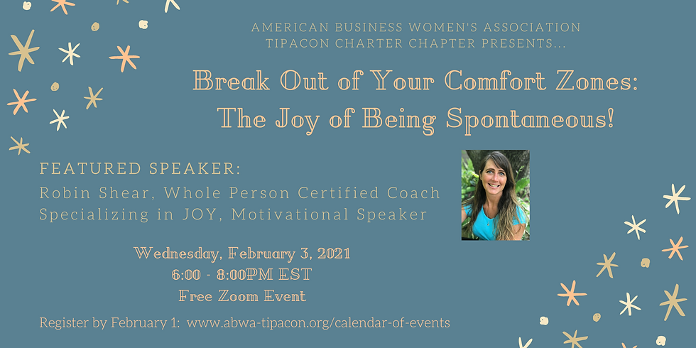 Break Out of Your Comfort Zones: The Joy of Being Spontaneous!