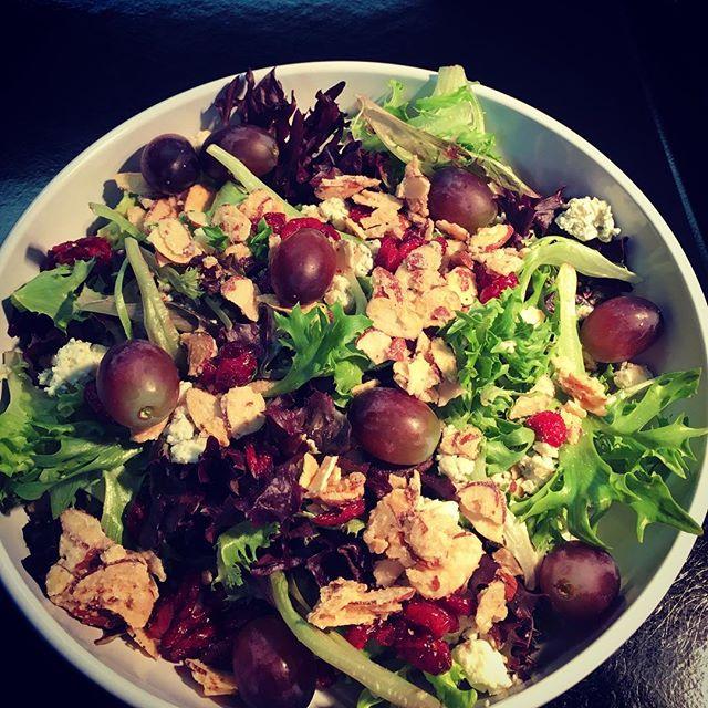 Signature Salad #parksidedrivein#healthyoption#champagnevinaigrette#eatlocal