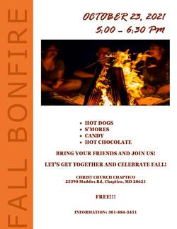 10-23-21 Bonfire Flyer