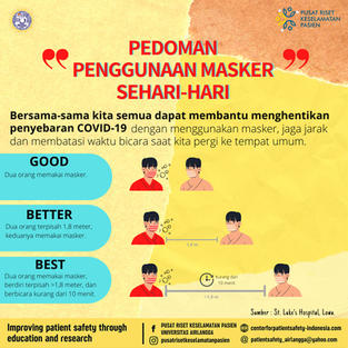 Guidelines for Daily Use of Masks
