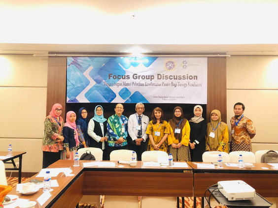 FGD session with professional organisations and Department of Health at District and Provincial levels