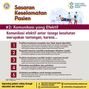 Patient Safety Goals 2: Effective Communication