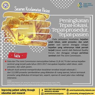 Patient Safety Goals 4: Ensure Safe Surgery