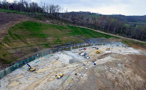 Cobun Creek Dam Spillway Project
