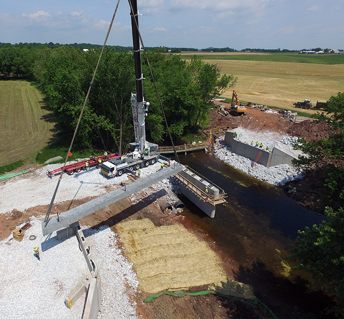 Adams County, Horner Road Bridge Replacement
