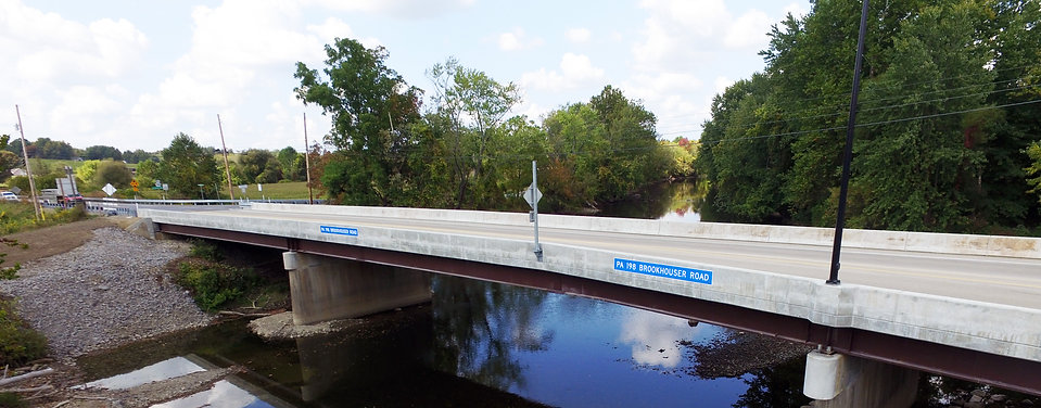 CLEARWATER RECEIVES COMMUNITY CONNECTION AWARD FOR THE SAEGERTOWN BRIDGE REPLACEMENT AND ROUND-A-BOUT PROJECT
