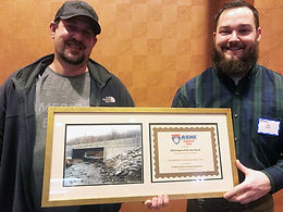 CLEARWATER AWARDED THE ASHE SOUTHWEST PENN PROJECT OF THE YEAR