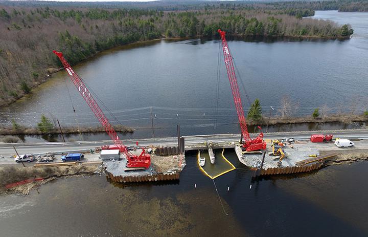 Pocono Lake Bridge / Coffer Dam Project