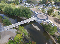 Saegertown Bridge + Roundabout
