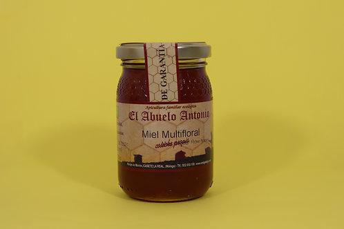 Miel Multifloral  Ecológica 250g. El Abuelo Antonio