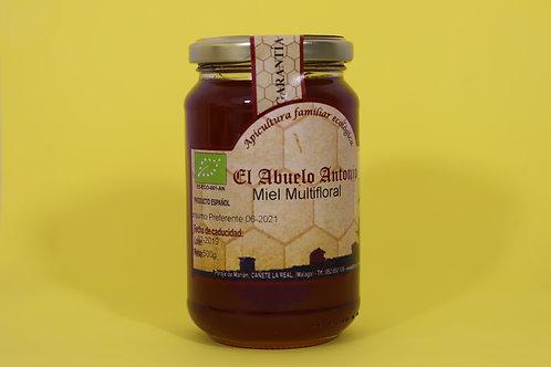 Miel Multifloral  Bio 500g. El Abuelo Antonio