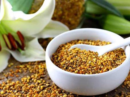 Composicion y propiedades nutricionales del polen. El bistec vegetal