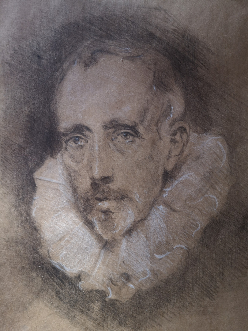 Van Dyck Sketchbook Study
