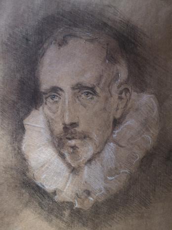 Van Dyck Sketchbook Study
