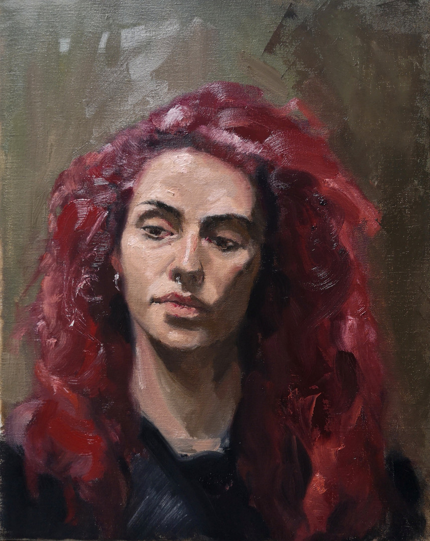 Miriam. Oil on Canvas