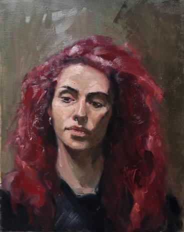 Miriam. Oil on Canvas