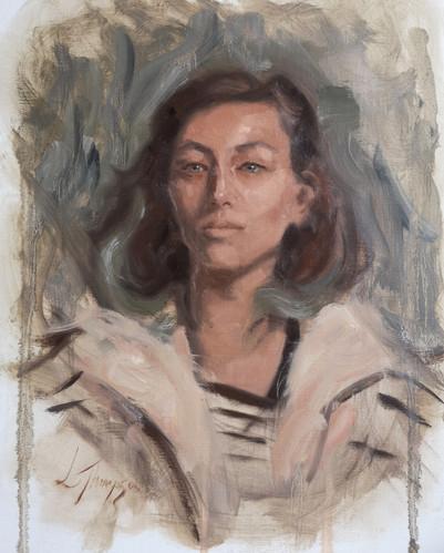 Alla Prima portrait study